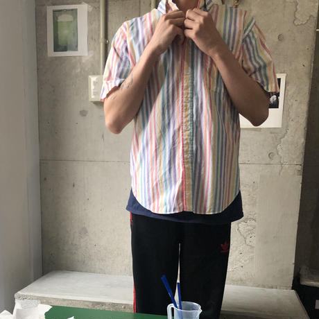 90s L.L.Bean L/S Stripe Shirt