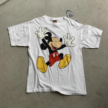 90s Disney Mickey smile tee WHT