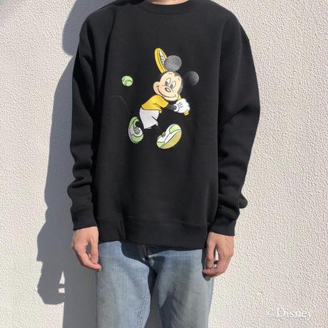ciatre / Mickey tennis sweatshirts BLK
