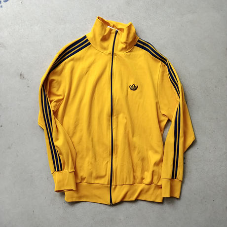 70s~ adidas Jersey Jog Top YLW