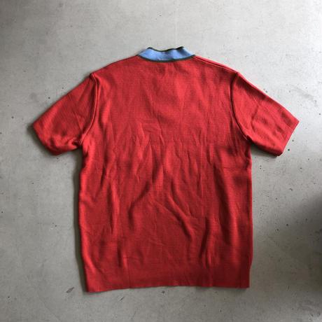 France Made Paul & Joe S/S Vneck Knit Pullover