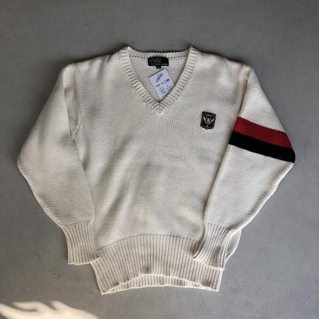 Polo by Ralph Lauren Vneck School Cotton Knit