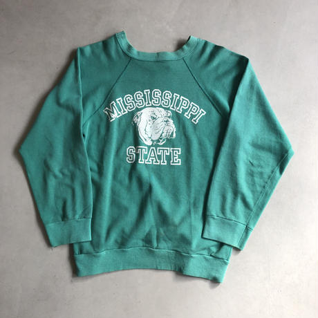 80s champion × LANSEND sweat GRN