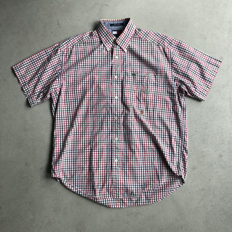 90s TOMMY HILFIGER S/S Check Shirt