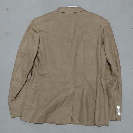Burberrys Linen Double Tailored Jacket