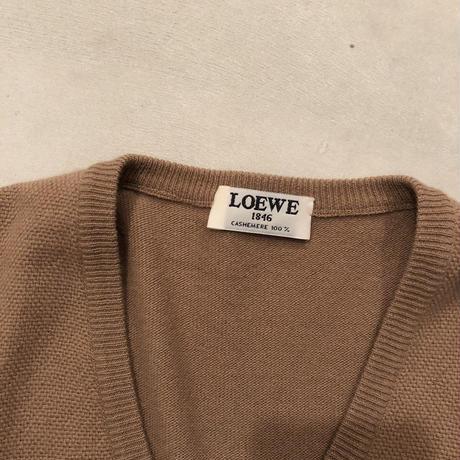 LOEWE Old Cashemere V Neck Pullover