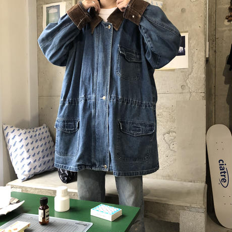 BREM RAIN WERE Denim Coverall  BLU
