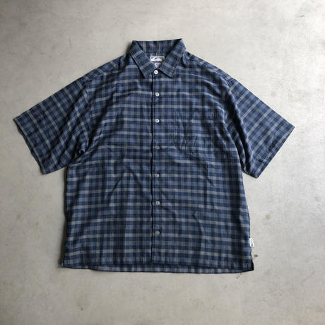 90s QUICK SILVER S/S Check Shirt