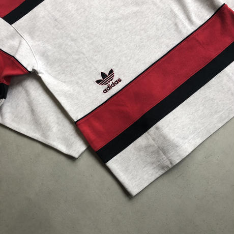 ~90s adidas Hi Neck Sweat Pullover