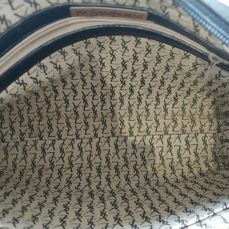 Old YEVS SAINT LAUREN Leather Shoulder Bag