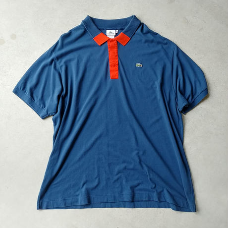 LACOSTE Big S/S Polo Shirt BLU