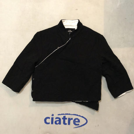 90s tricot COMME des GARCONS cropped jacket