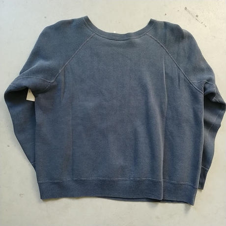 60s~ Flocky Print Sweat Shirt