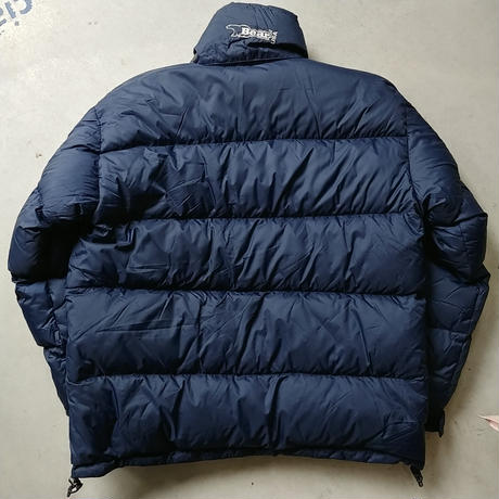 90s Bear Reversible Down Jacket NVY RED