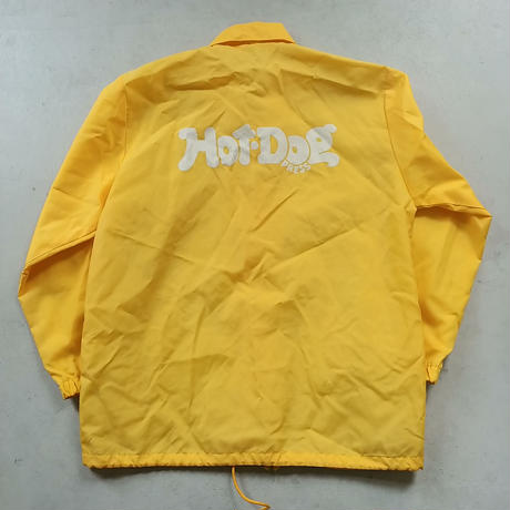 Hot Dog PRESS Nylon Coach Jacket YLW