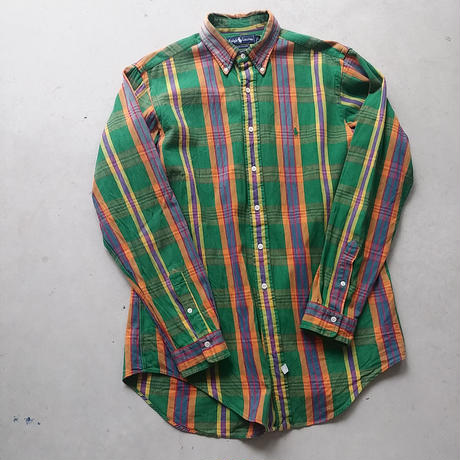 Polo by Ralph Lauren L/S Check Shirt GRN