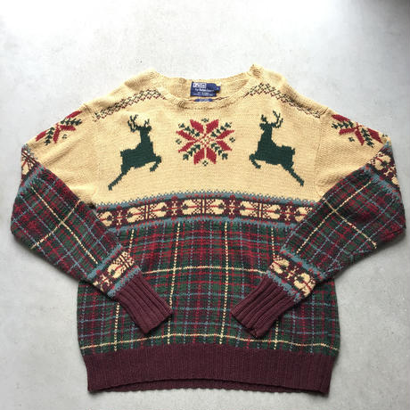 Polo by Ralph Lauren  Nordic  Knit Sweater BEG