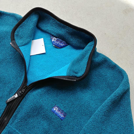 90s Pen Field Fleece Zip Up Blouson BLU