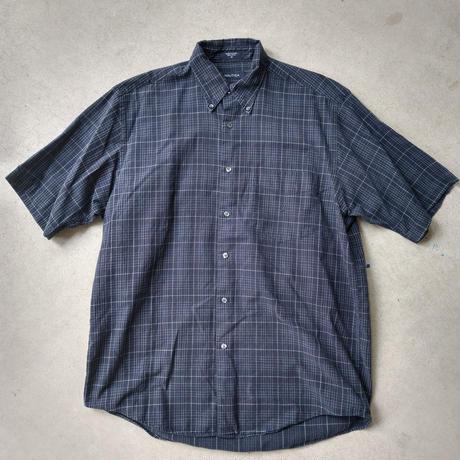 NAUTICA Check S/S Shirt NVY