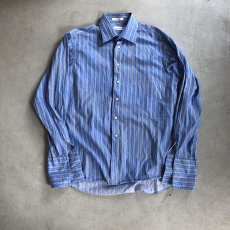Calvin Klein L/S Stripe Dress Shirt
