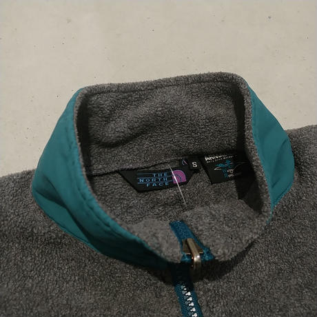 90s THE NORTH FACE Fleece Zip Up Blouson GRY