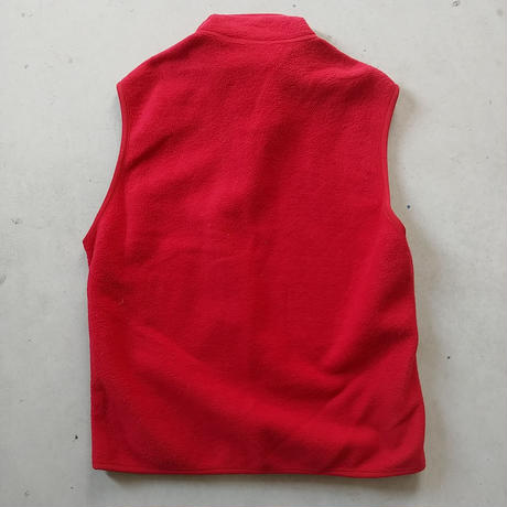 90s Patagonia SYNCHILLA Fleece Vest RED
