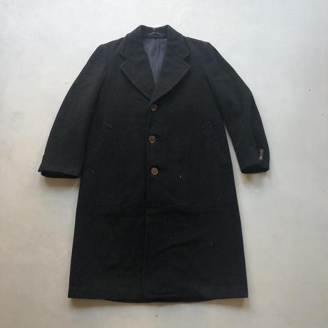 Old Wool Balmacaan Coat