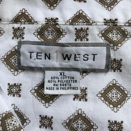 90s ten west pajamas shirt BRW