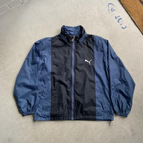 old puma nylon jacket BLU