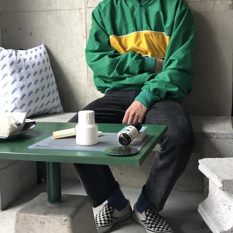 80s~ NISKA Hooded Nylon Jacket GRN