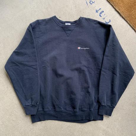 90s champion sweat shirt NVY
