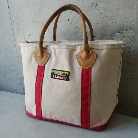 80s~ L.L.Bean Bean Tote Bag Leather Handle
