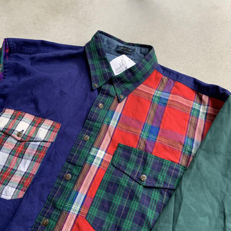 Chaps crazy pattern shirt