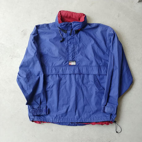 90s CHAPS Nylon Pullover NVY