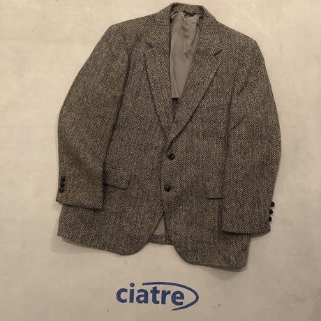 70s Harris Tweed Tailored Jacket