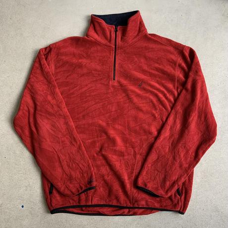 NAUTICA fleece RED