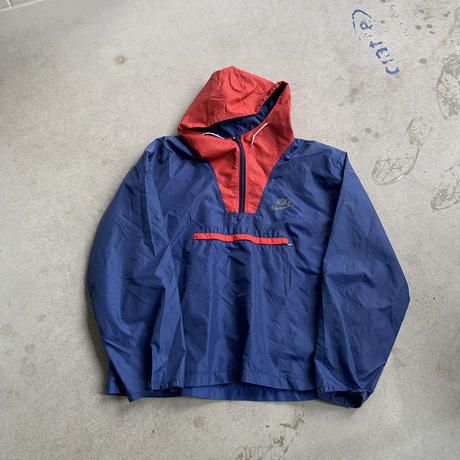 70s~Nike nylon Po BLU
