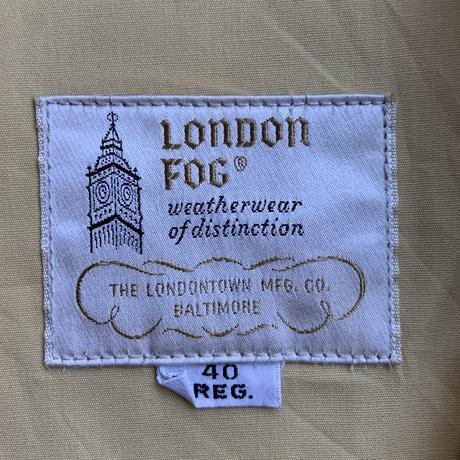 60s~ london fog swing top YEL