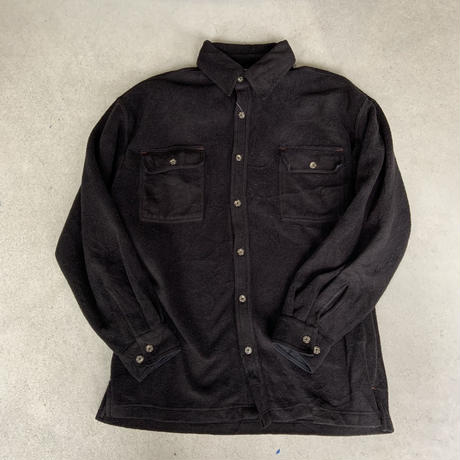 fleece shirt BLK