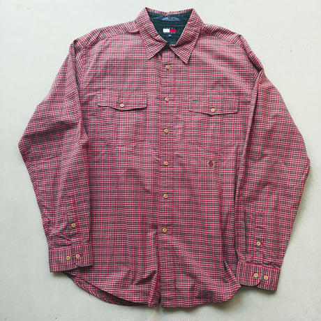 90s TOMMY HILFIGER Check L/S Shirt