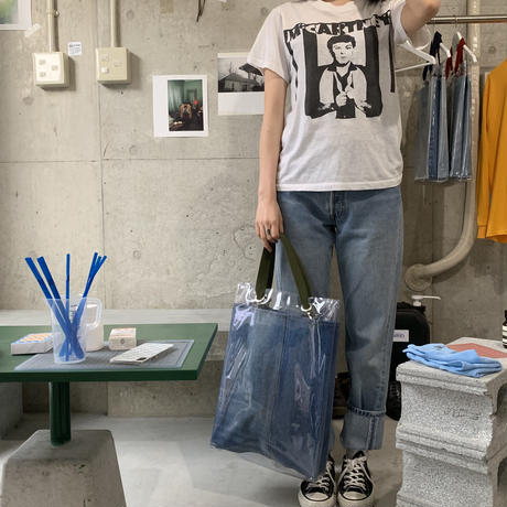 ♻ ciatre PVC Tote Bag Denim Recycle