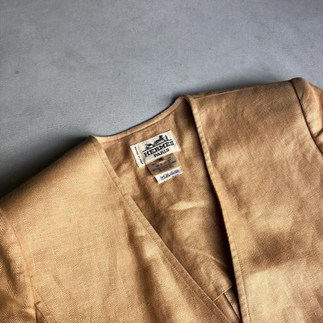Old HERMES Linen Jacket