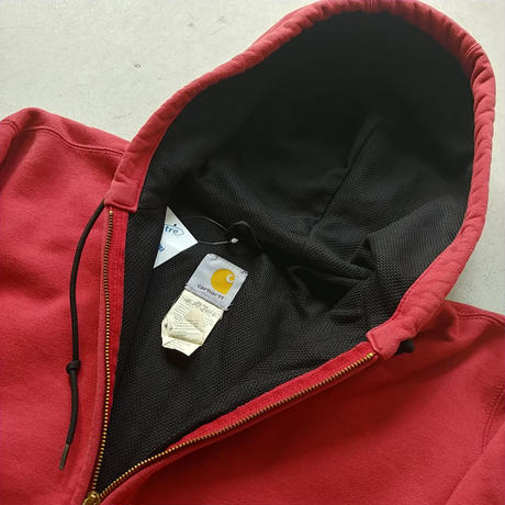 90s Carhartt Sweat Zip Up Parka