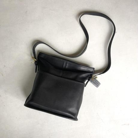 Old COACH Grab Leather Shoulder Bag