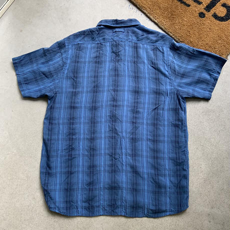 Old the north face shirt S/S BLU