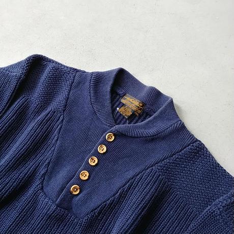 80s Eddie Bauer Cotton Knit Sweater NVY