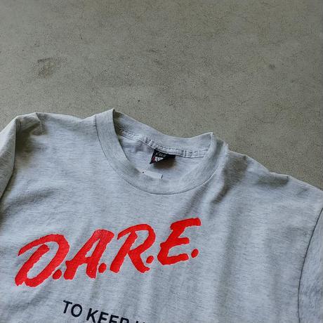 80s~ D.A.R.E. S/S Tee GRY