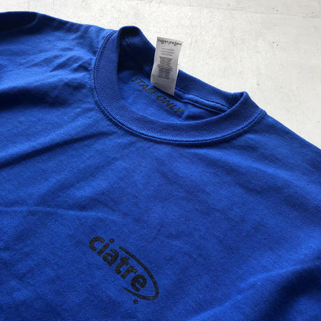 ciatre uniform tee L/S STAFF ONLY BL
