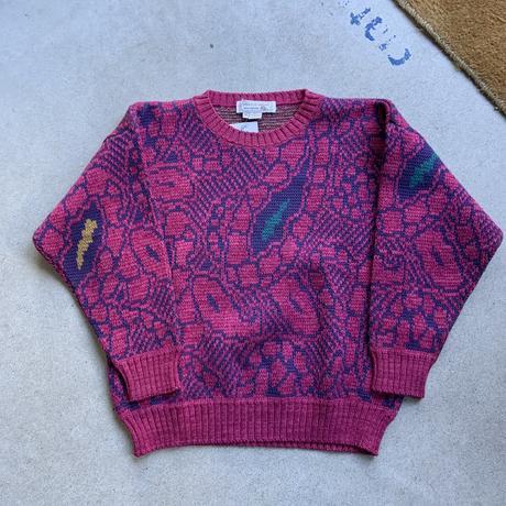80s~ pattern knit PPL