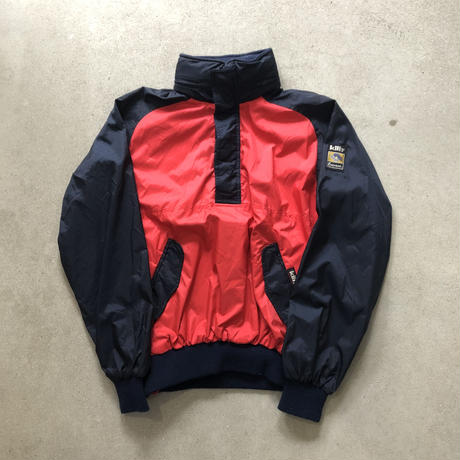 90s~ Killy Nylon Pullover Jacket  RED×NVY
